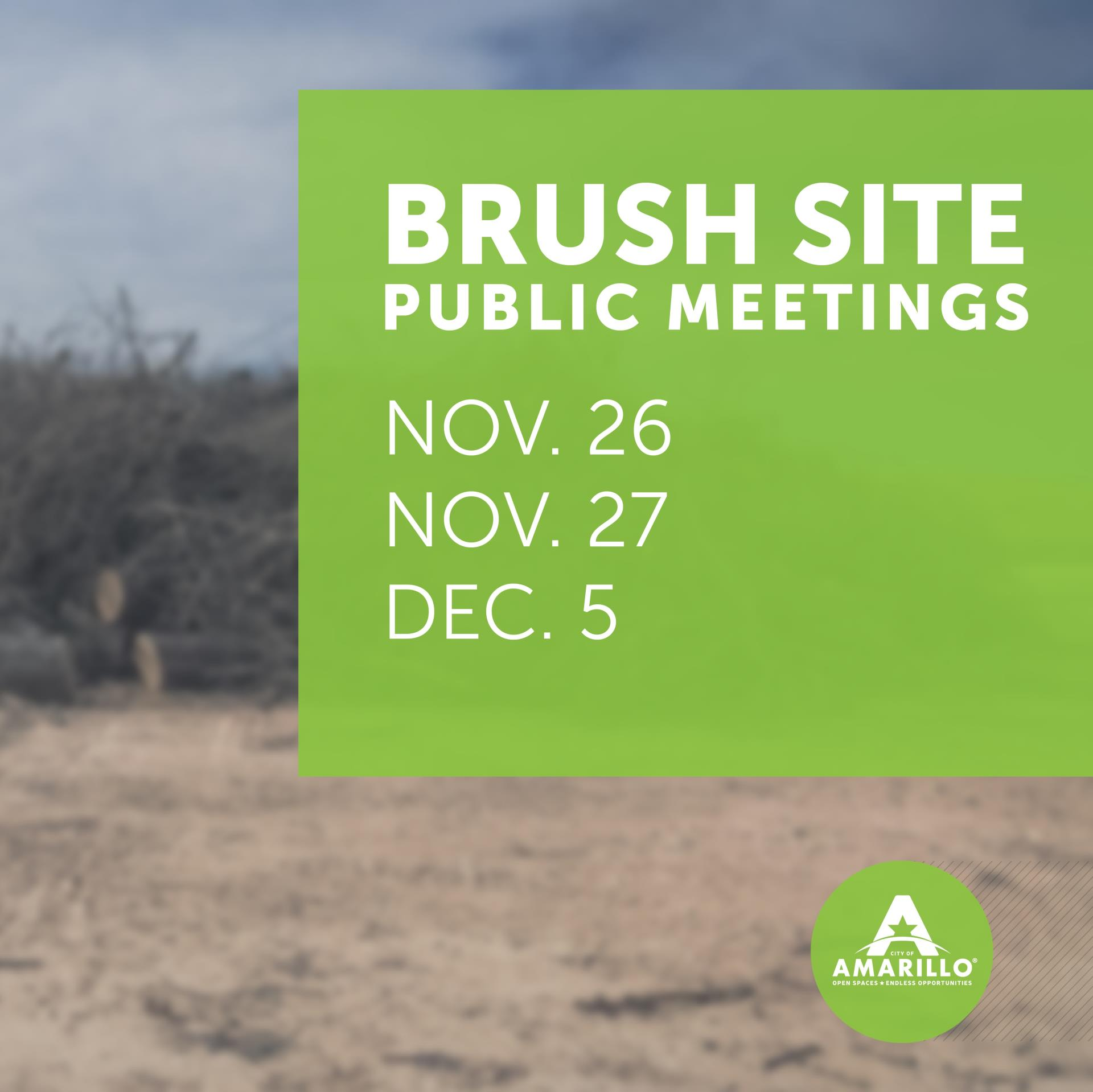 Brush Sites